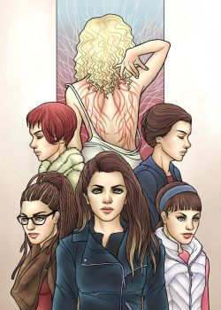 Orphan Black by Asenath23
