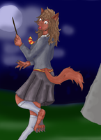 Moonlight Maidens - Hermione Granger by Kathalia