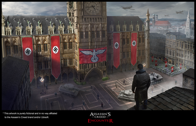 Assasin's Creed: Encounter - Plaza by C0nstantini