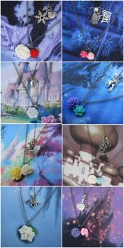 Necklaces for Princesses by instantpudding