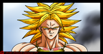 Broly SSJ by Evil-Black-Sparx-77