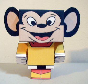 Cubee - Mighty Mouse by 7ater