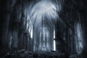 Apocalyptic past blue by gabriela2006