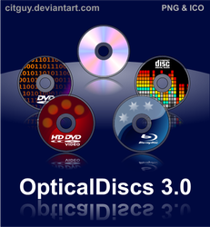 Optical Discs 3.0 by CITguy