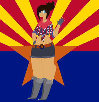 Hetalia Oc - Arizona by xXBlitzyTheRottXx