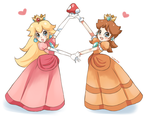 We're Peach and Daisy... by Ipun