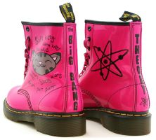 Big Bang Theory Soft Kitty Dr Martens by RTyson