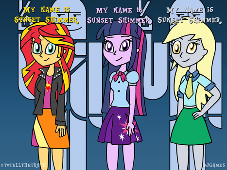 Equestria Girls on To Tell the Truth by DJgames