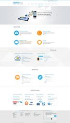 Tech Company Web Redesign Contest by ahsanpervaiz