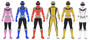 REQUEST: Power Rangers Neo Knights, Pt 1 by CaptainKessler
