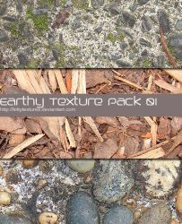Earthy texture pack 01 by kittytextures