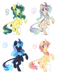 .:Mystery Adopts:. Kirins (CLOSED) by Amazing-ArtSong