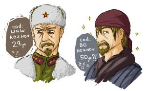 Young Reznov...?? by spidercandy