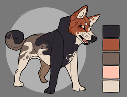 [CLOSED ADOPT] Greenland Dog x Catahoula by NorthernUrsus