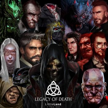 Legacy of Death by Guillaume101