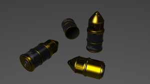 Warhammer Bolter Ammo 2 by ClaireGrube