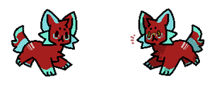 [Mystery Tail] Red Critter [theinscrutablebird] by coyd0g