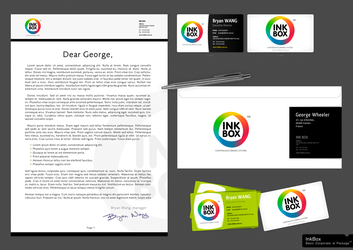 InkBox basic corporate id pack by octav-chelaru
