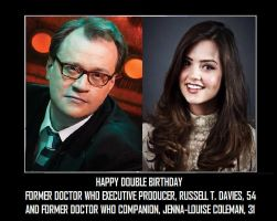 Happy Double Birthday [Doctor Who] by DoctorWhoOne