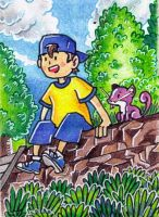 Youngster by Antaie