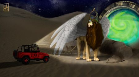 Lamassu by AlbaAragon