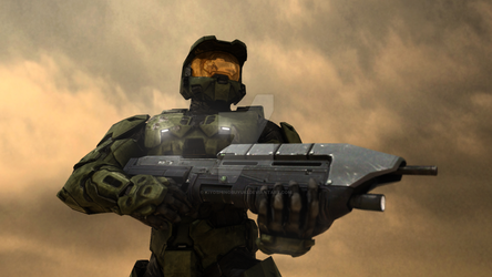 Master Chief HDR Render by KiyoshiNobuyuki