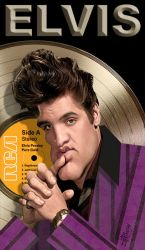 Elvis Presley Gold by wooden-horse