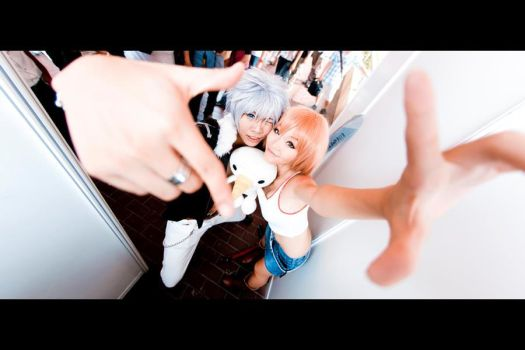 Rave Master: Haru, Elie and Plue by KaoriEtoile