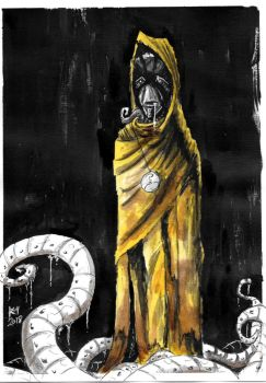 Weekly Sketches: Hastur by Kmadden2004