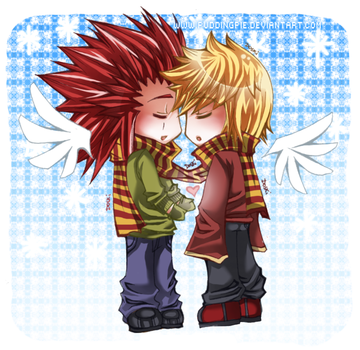 :.:AkuRoku:TakeMyHands:.: by PuddingPie