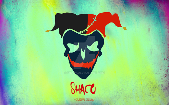 Shaco Suicide Squad Skull by Piiddy