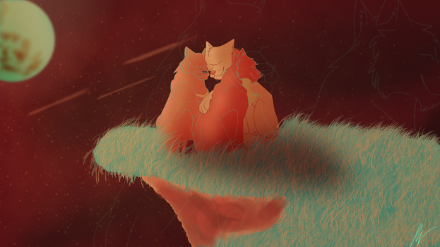 Castle in the Sky .:Palette Series 7:. by SwagFeather