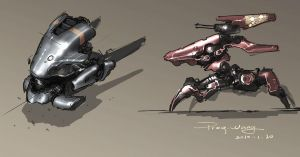 concept of 2 robots by ProgV