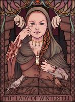 The Lady of Winterfell by Jhiffi