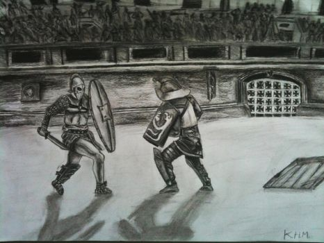Gladiator fight by K-Mate