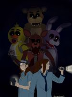 FNAF and Us by albimola