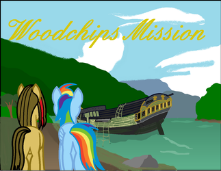 Woodchips Mission Cover art by Vector-Brony