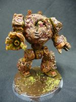 Death Guard Contemptor by Solav