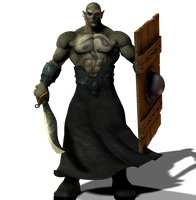 Orc Brute png by Direwrath