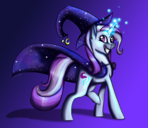 Trixie and Starlight Fusion (MLP) by ShadowDragon79