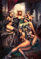 harem exalted by paulobarrios