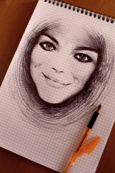 Emma Stone sketch by chadk92