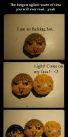 Death Note Cupcake Fun by DaydreamingCow