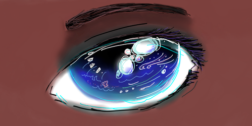 Ocean in Her Eyes by OpalAuthor13