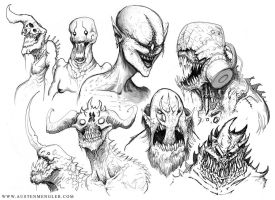 MONSTERS 03 by AustenMengler
