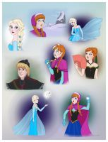 Frozen - random stuff by Lucy--C