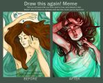 Draw This Again: Drowning Maiden by artofpan