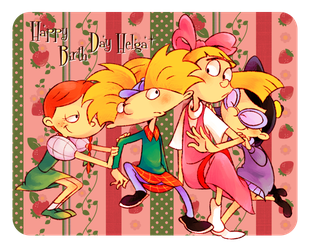 HBD Helga by knknknk