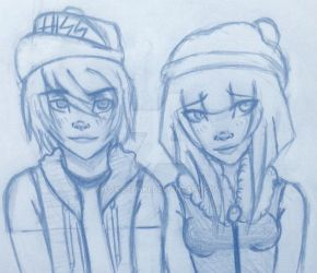 I have no tittle! :'D w/LeafyIsHere [[Fanart]] by TheDeadlyWaffle