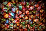 digital abstract mess, parallele worlds by santosam81